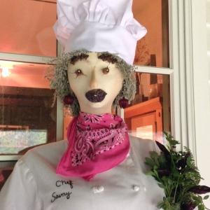 Chef savory closeup