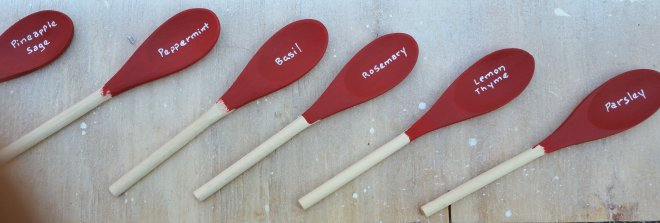 Craft - Spoon markers (14)
