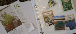 garden journal 1