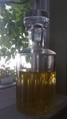 Lemon herb liqueur