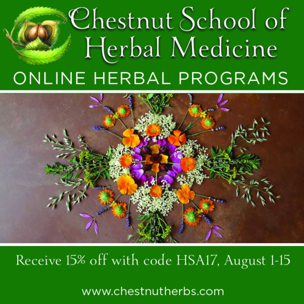 Chestnut School of Herbal Medicine Teaches Online