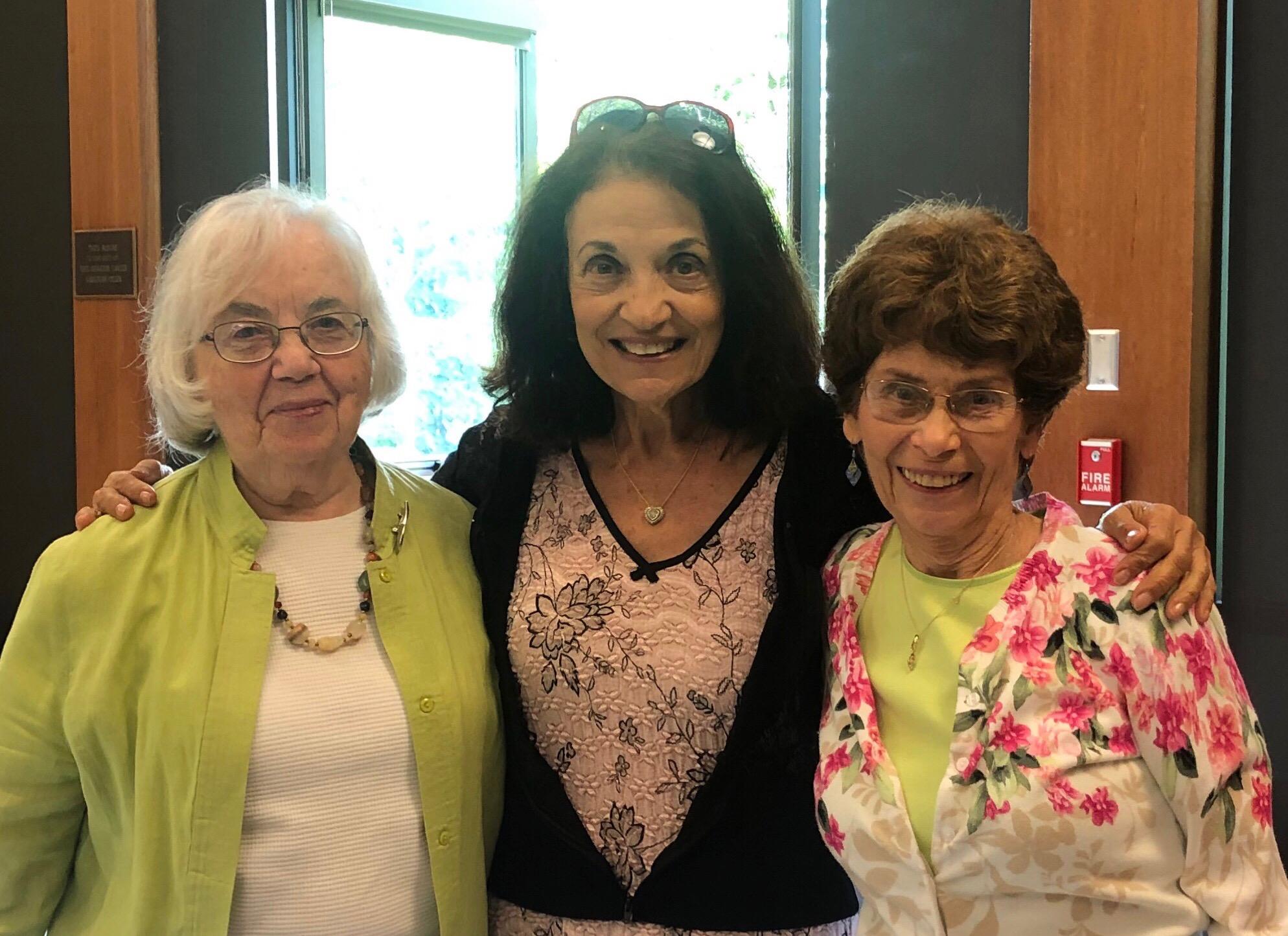 Judy Kutina, Gwen Zeitz, Jane Cavanaugh