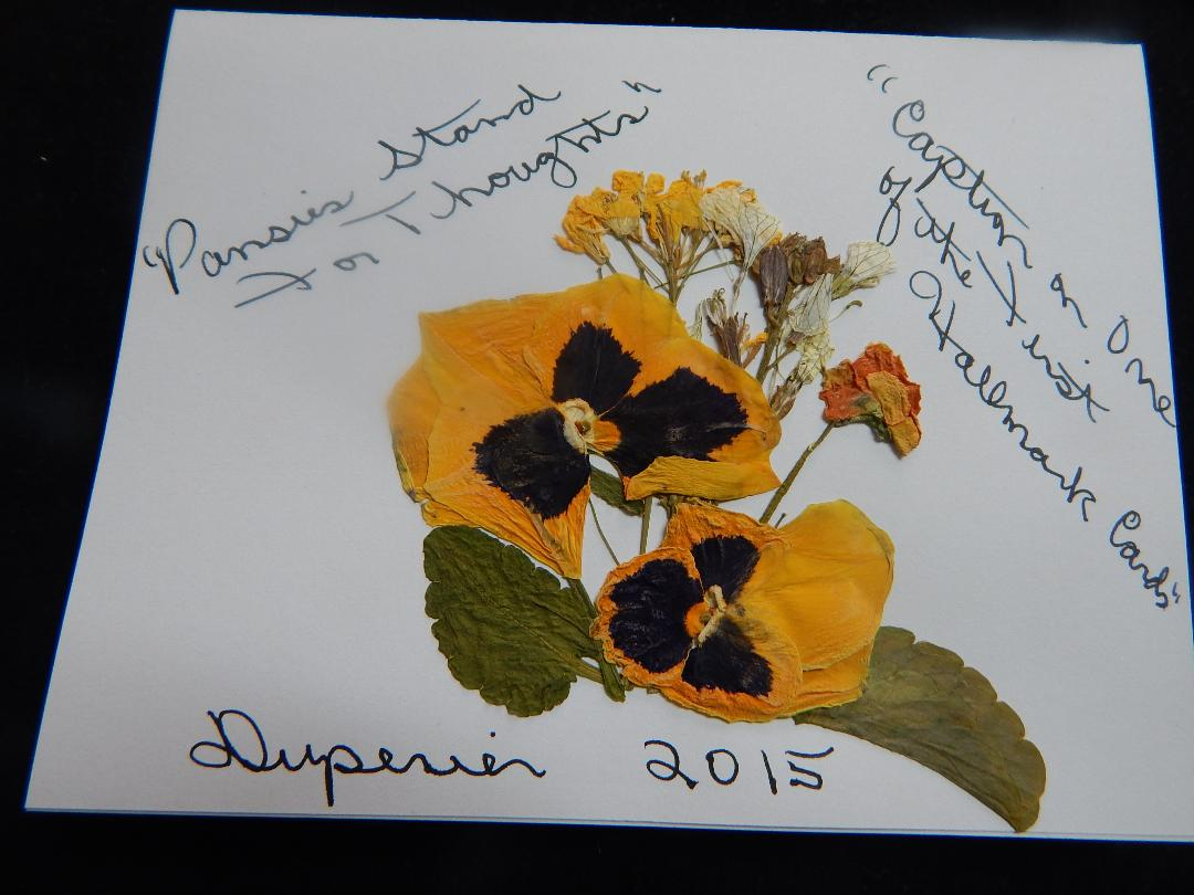 Dianne inside card