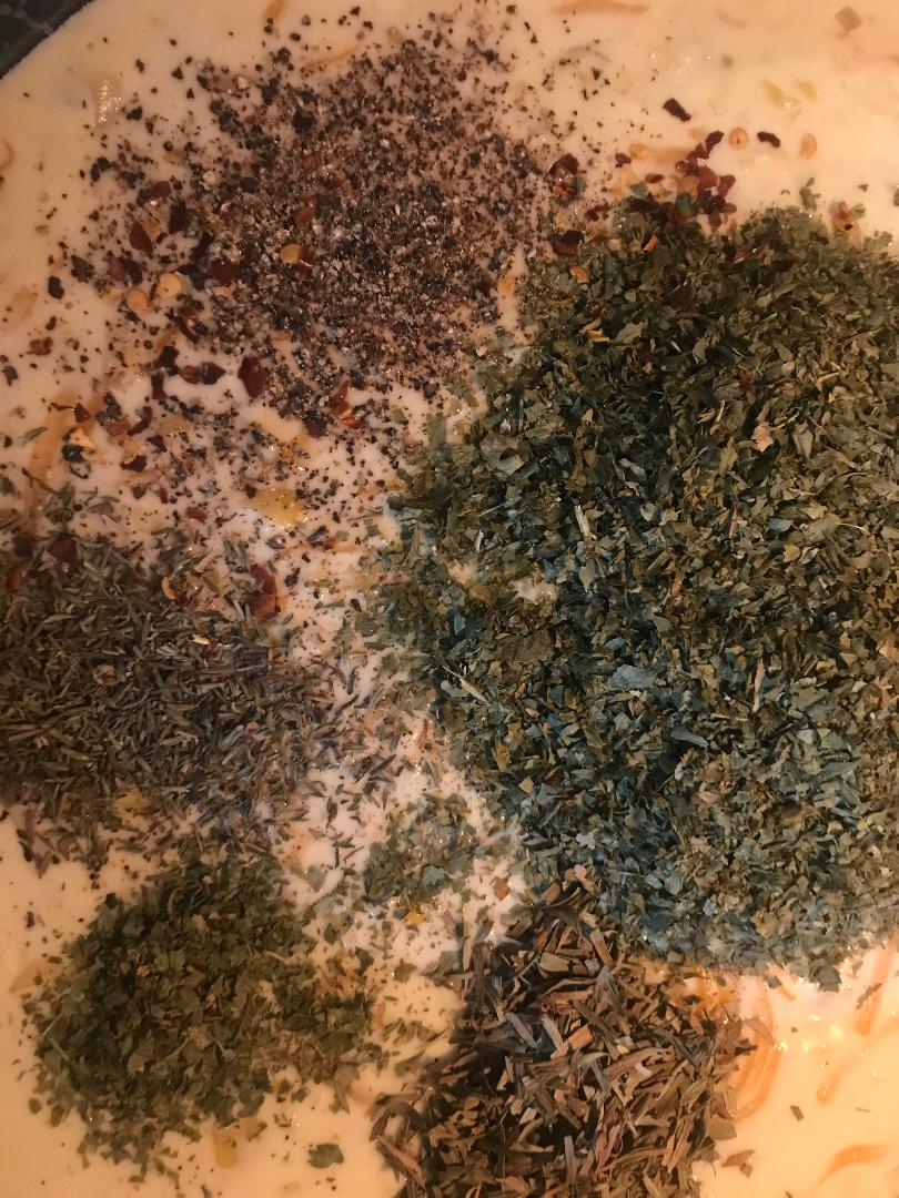 corn chowder herbs