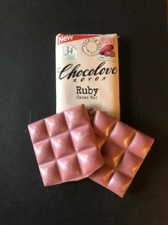 chocolate, pink