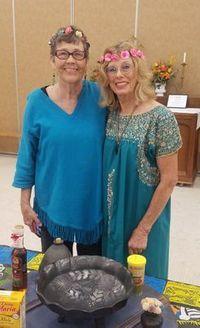 Sara Holland and Mary Deobbeling