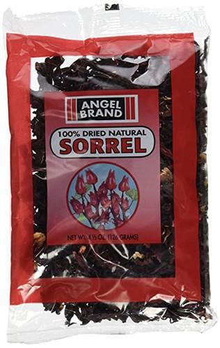 Dried sorrel