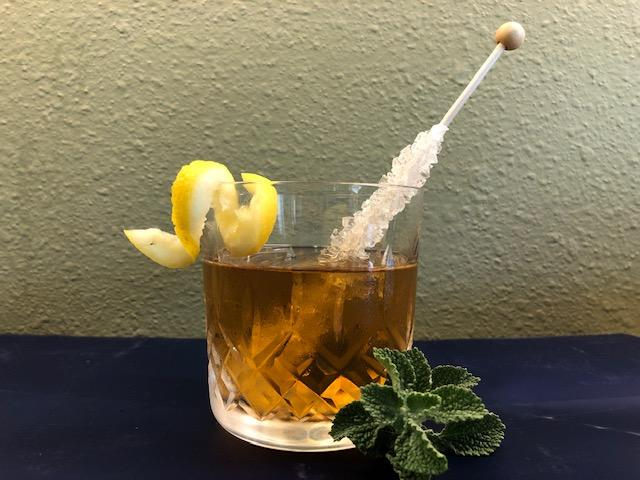 rock and rye alcohol beverage with horehound